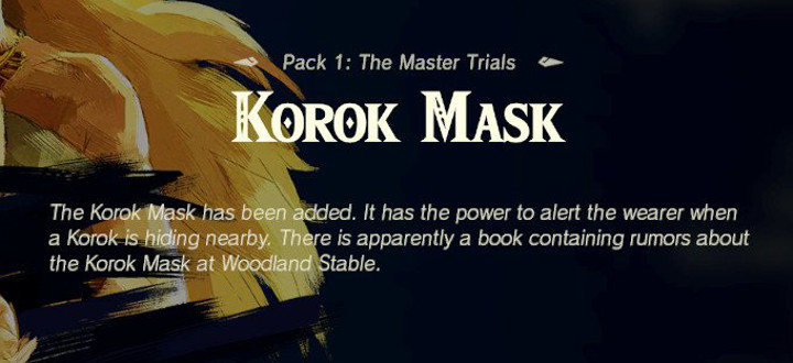 Breath of the Wild - Korok Mask