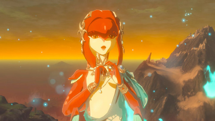 Breath of the Wild Mipha