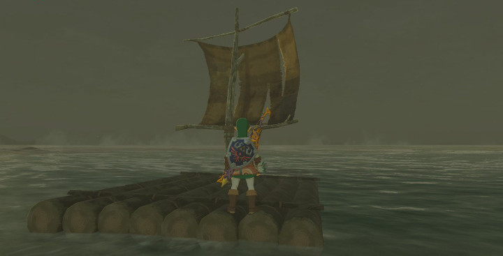 Breath of the Wild Raft