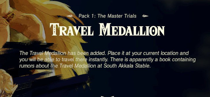 Breath of the Wild - Travel Medallion
