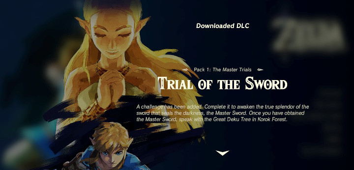 Breath of the Wild - Trial of the Sword