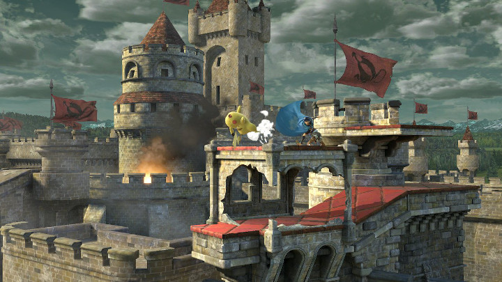 Super Smash Bros Ultimate - Castle Siege