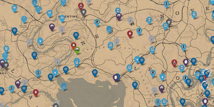 jeanropke map - Red Dead Online