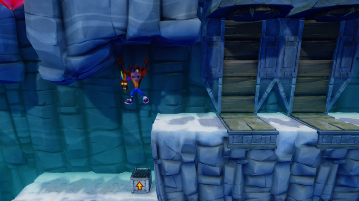 Crash Bandicoot 2 Snow Go
