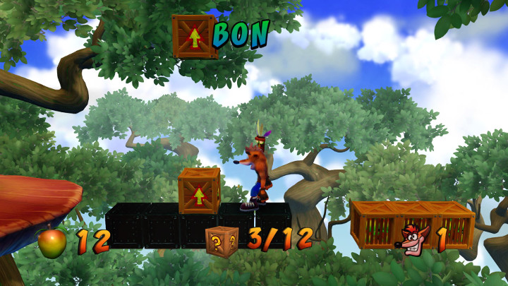 Crash Bandicoot Bonus Round