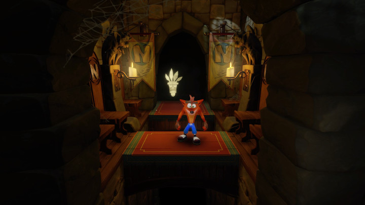 Crash Bandicoot Lights Out
