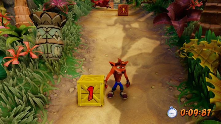Crash Bandicoot Time Boxes