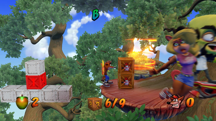 Crash Bandicoot Road to Nowhere