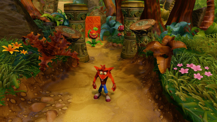 Crash Bandicoot Rolling Stones