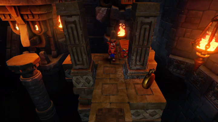 how to get the platinum relic in temple ruins in crash bandicoot n sane trilogy lightgun galaxy. Black Bedroom Furniture Sets. Home Design Ideas