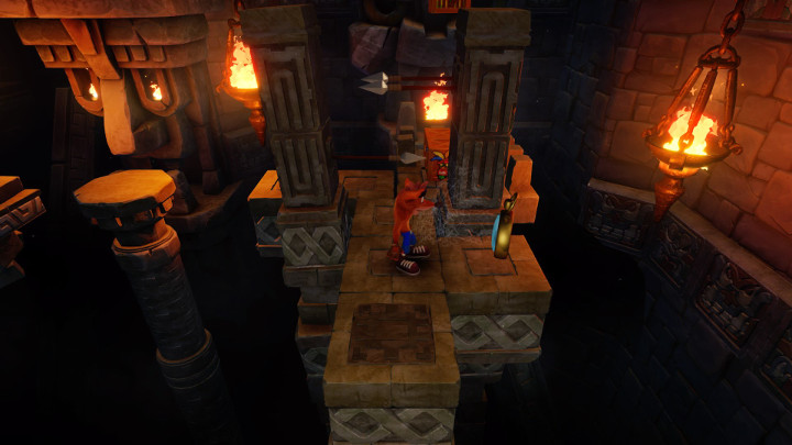 Crash Bandicoot Temple Ruins