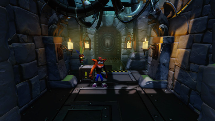 Crash Bandicoot The Lab