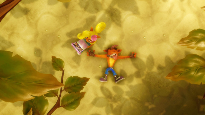 Crash Bandicoot 2 Uncharted Easter Egg