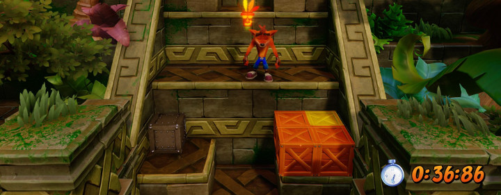 Crash Bandicoot Time Box