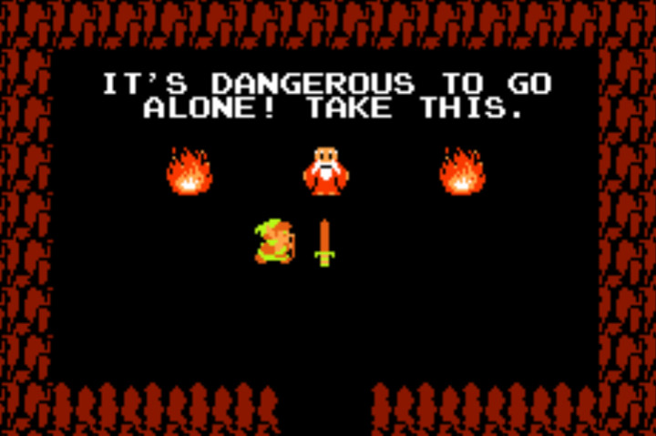 The Legend of Zelda - It's Dangerous to Go Alone