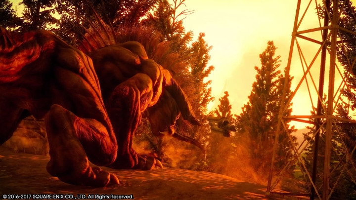 Final Fantasy XV Behemoth