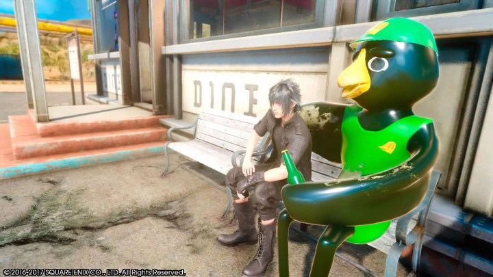 Final Fantasy XV Crow's Nest Diner