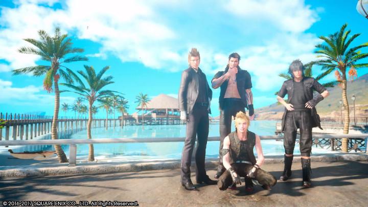 Final Fantasy XV Galdin Quay