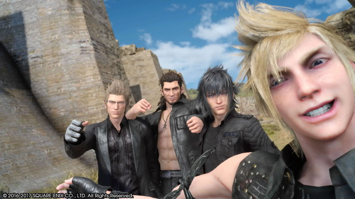 Final Fantasy XV Group Photo
