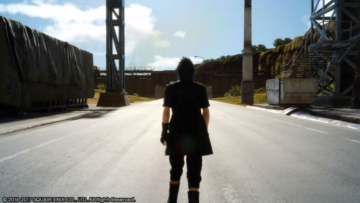 Final Fantasy XV Noctis and the Open Road