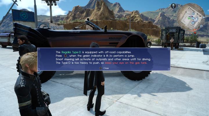 Final Fantasy XV Regalia Type-D