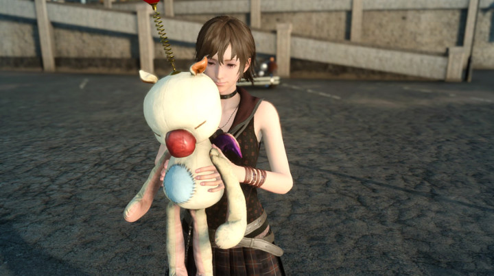 Final Fantasy XV Iris with Moogle Doll