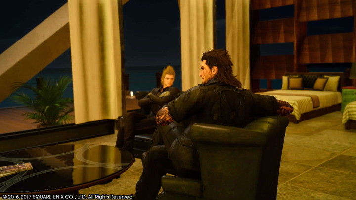 Final Fantasy XV Gladin Quay Resort