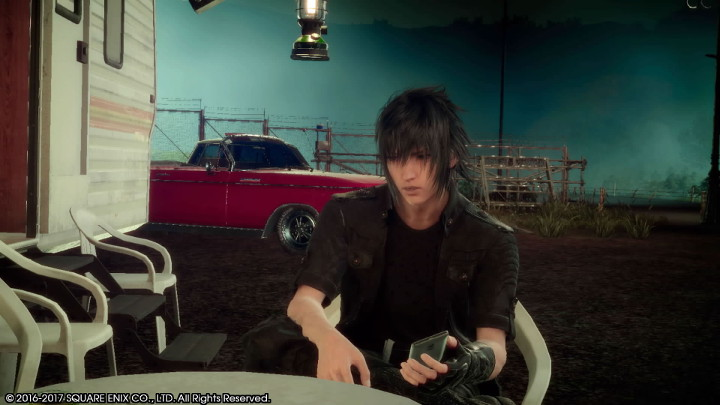 Final Fantasy XV Smartphone and Noctis