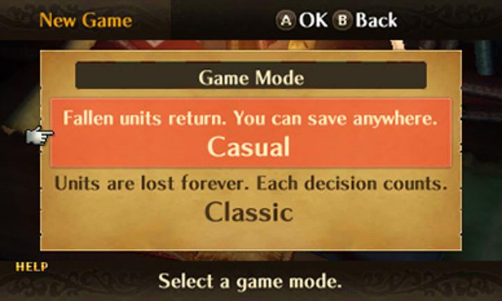 fire emblem casual mode