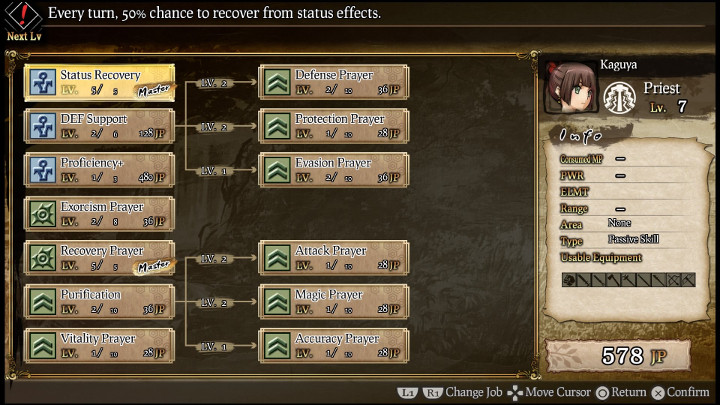 god wars skill tree