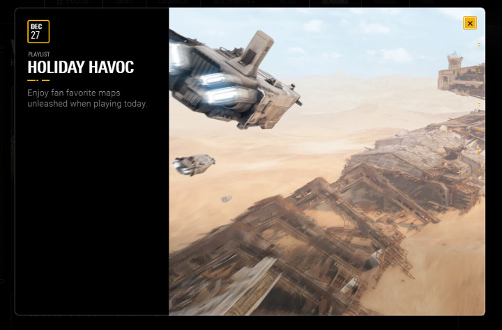 Battlefront Holiday Havoc