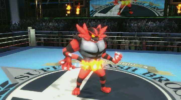 Super Smash Bros. Ultimate - Incineroar