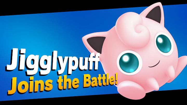 Super Smash Bros Ultimate - Jigglypuff Joins the Battle