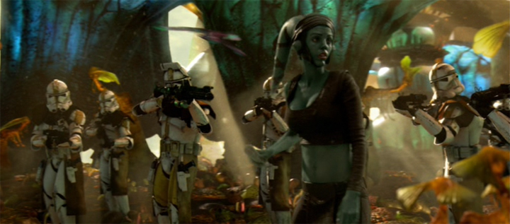 Star Wars - Aayla Secura on Felucia