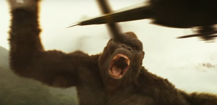 king kong in skull island