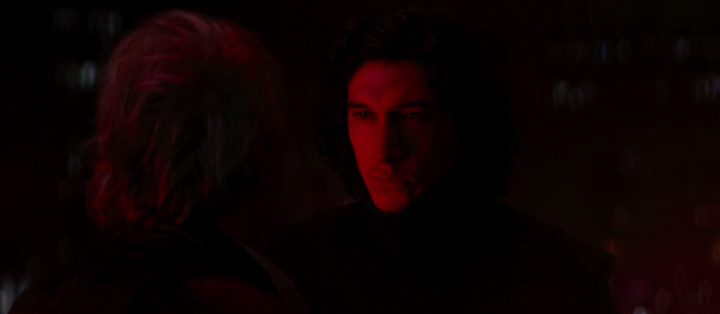 Kylo Ren and Han Solo, The Force Awakens