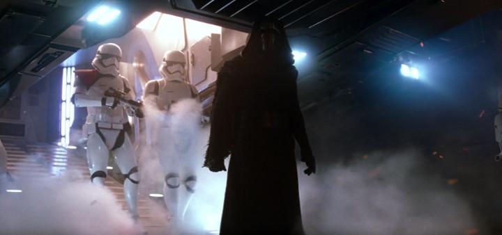 Kylo Ren on Jakku, The Force Awakens