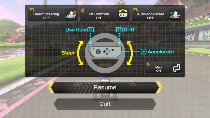 Mario Kart 8 Disable Smart Steering