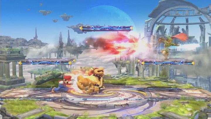 Smash Bros. Mario vs. Bowser