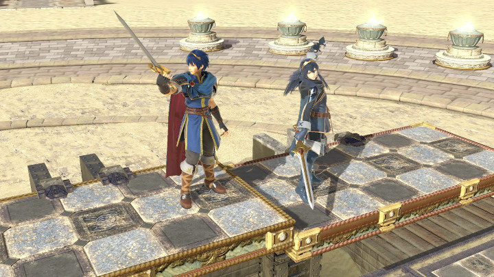 Super Smash Bros Ultimate - Marth and Lucina