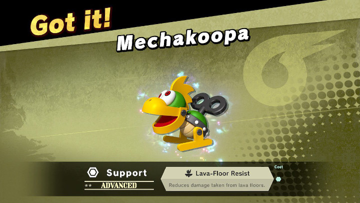 Super Smash Bros Ultimate - Mechakoopa Support Spirit