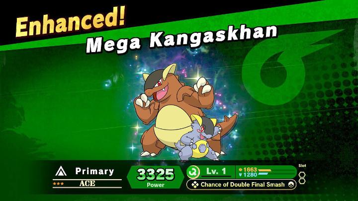 Super Smash Bros Ultimate - Mega Kangaskhan