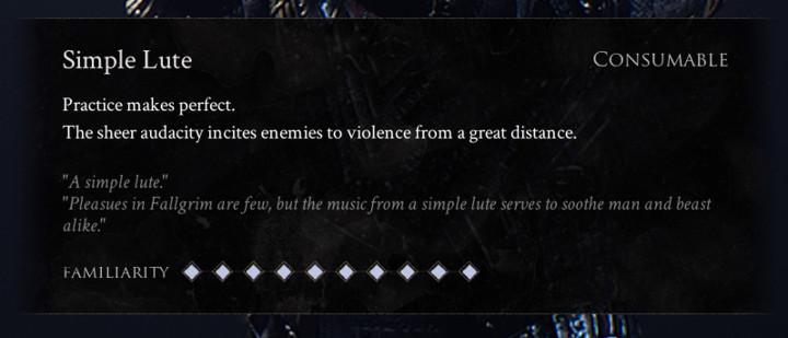 Mortal Shell - Simple Lute