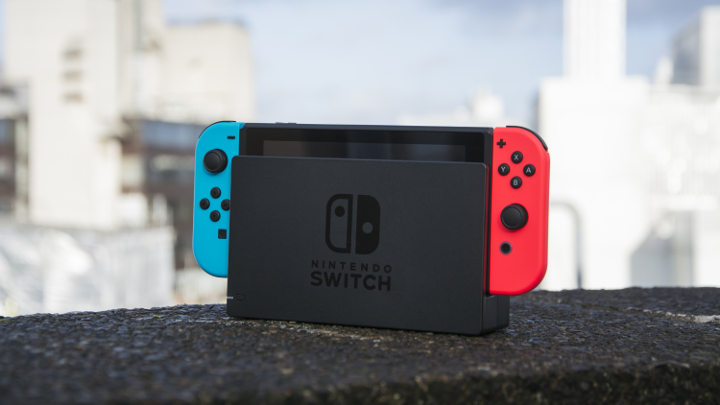 neon nintendo switch