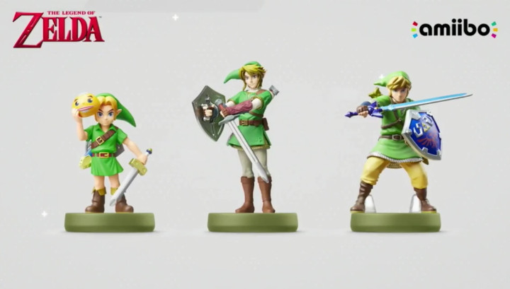 New Zelda Amiibo Figures 2017