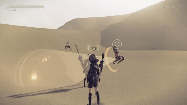 nier automata desert quest