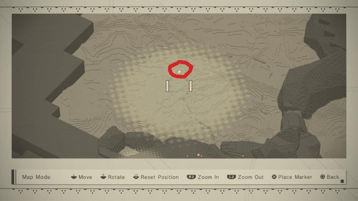 NieR:Automata desert scanner quest