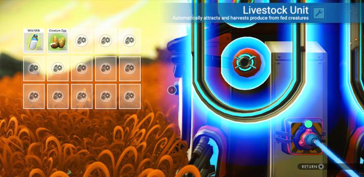 No Man's Sky - Livestock Unit