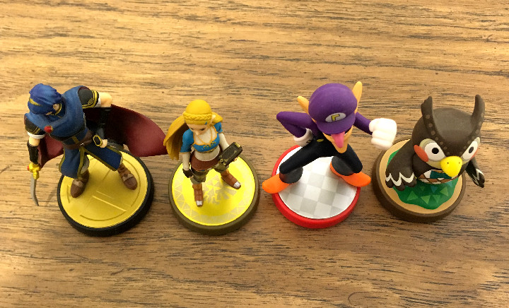 Non-Smash-Series Amiibo Figures