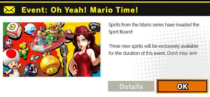 Super Smash Bros Ultimate - Oy Yeah Mario Time